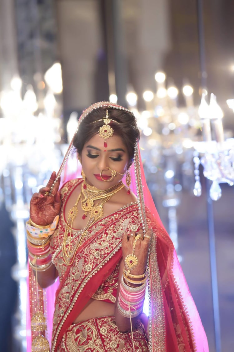 Embellished Bride by Mukesh bijalwan  Wedding-photography Bridal-jewellery-and-accessories Bridal-makeup | Weddings Photos & Ideas