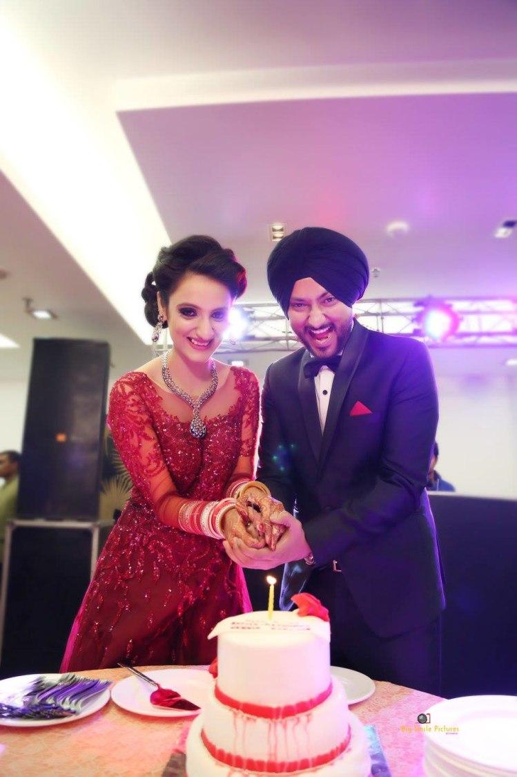 Bride And Groom On Their Reception Day by Mukesh bijalwan  Wedding-photography | Weddings Photos & Ideas