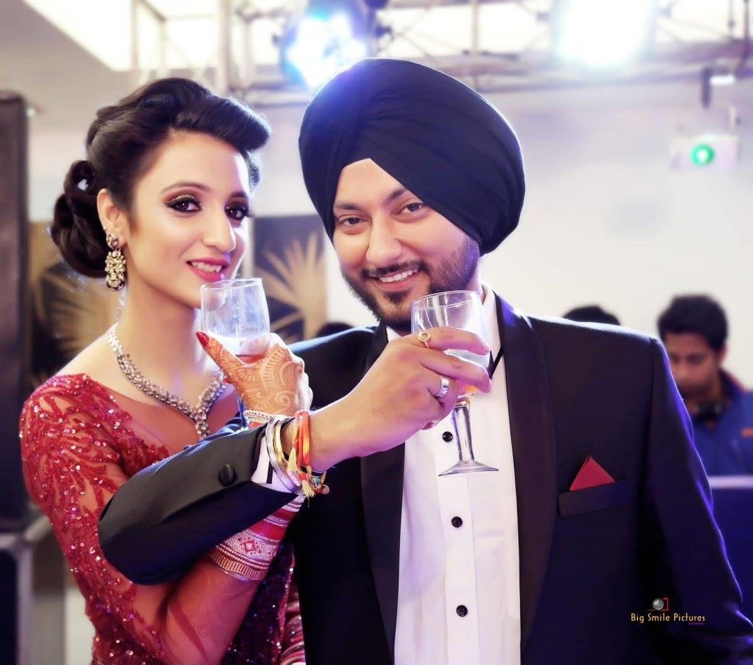 Dreamy Couple Together On Their Wedding Reception Day by Mukesh bijalwan  Wedding-photography Bridal-makeup Wedding-hairstyles   Weddings Photos & Ideas