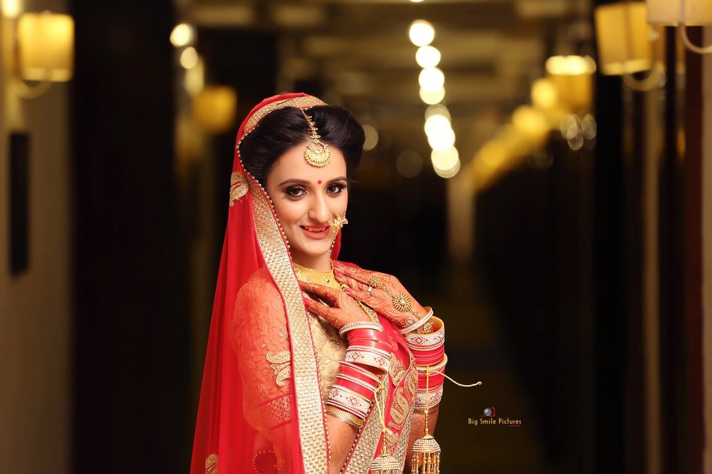 Alluring Bride On Her Wedding Day by Mukesh bijalwan  Wedding-photography Bridal-jewellery-and-accessories Bridal-makeup | Weddings Photos & Ideas