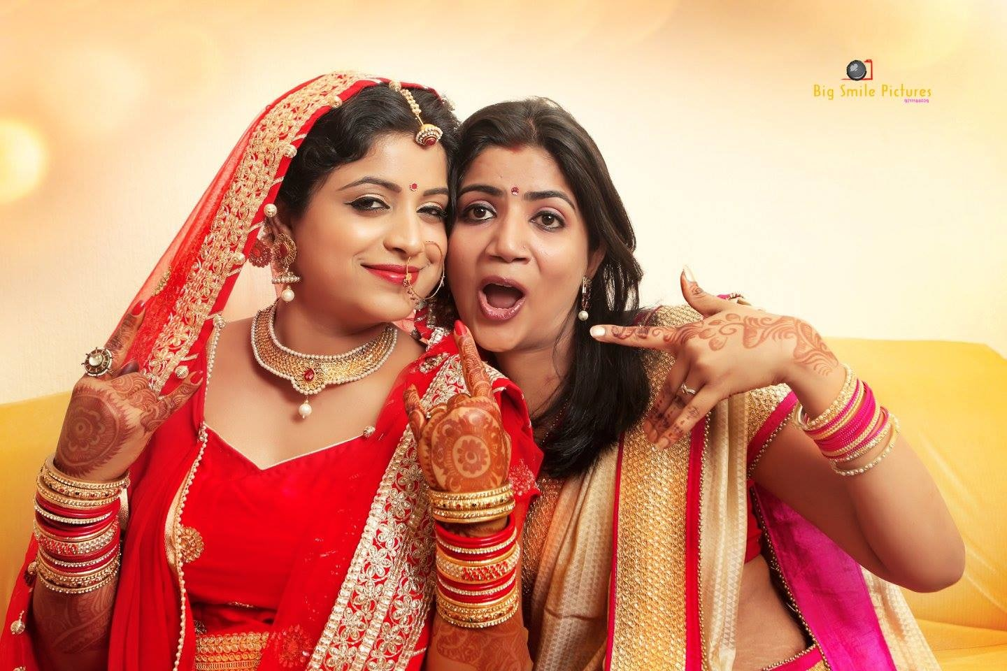 Fun Photo Shoot With Bride And Bridesmaid by Mukesh bijalwan  Wedding-photography Bridal-jewellery-and-accessories | Weddings Photos & Ideas