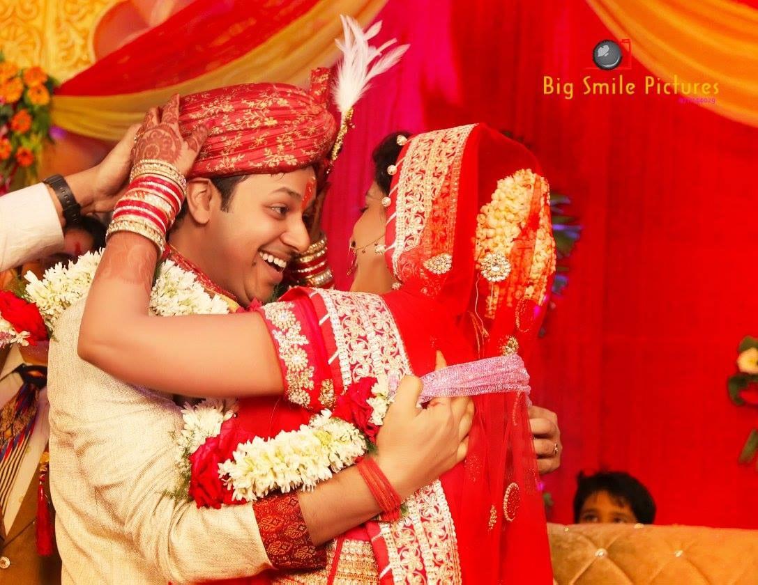 Bride And Groom On Their Wedding Day by Mukesh bijalwan  Wedding-photography | Weddings Photos & Ideas