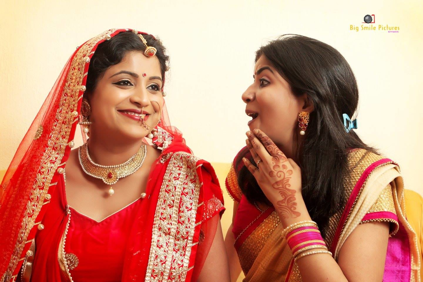 Quirky Shoot With Bride And Bridesmaid by Mukesh bijalwan  Wedding-photography Bridal-jewellery-and-accessories Bridal-makeup | Weddings Photos & Ideas