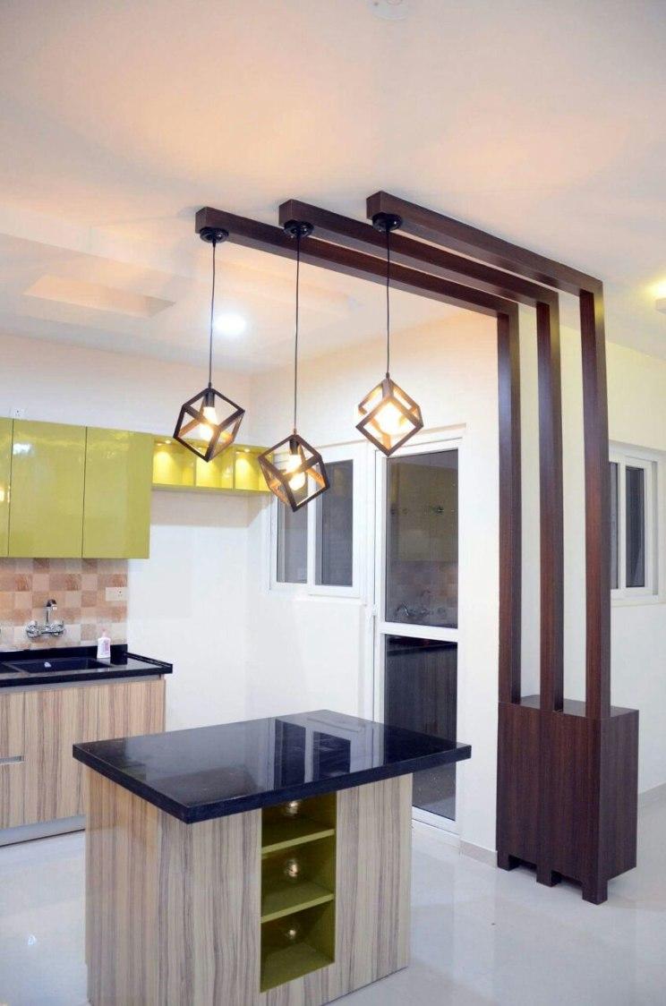 Modern open island kitchen by Interior Elements Modular-kitchen | Interior Design Photos & Ideas
