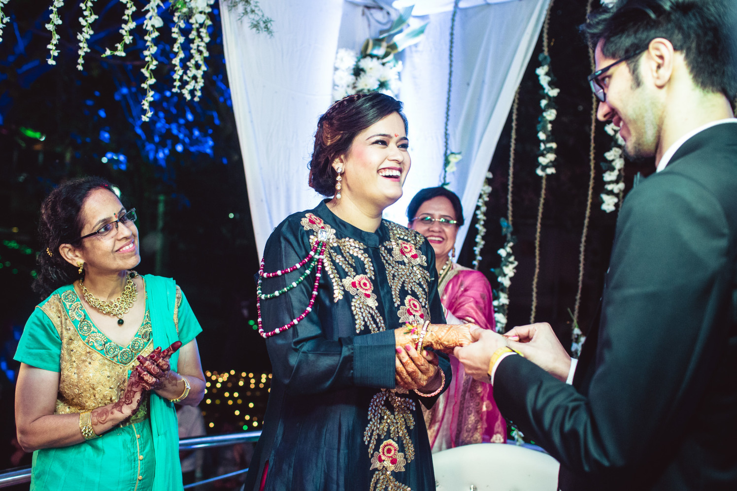 Exchanging tokens of love by Manas Saran Photography Wedding-photography | Weddings Photos & Ideas