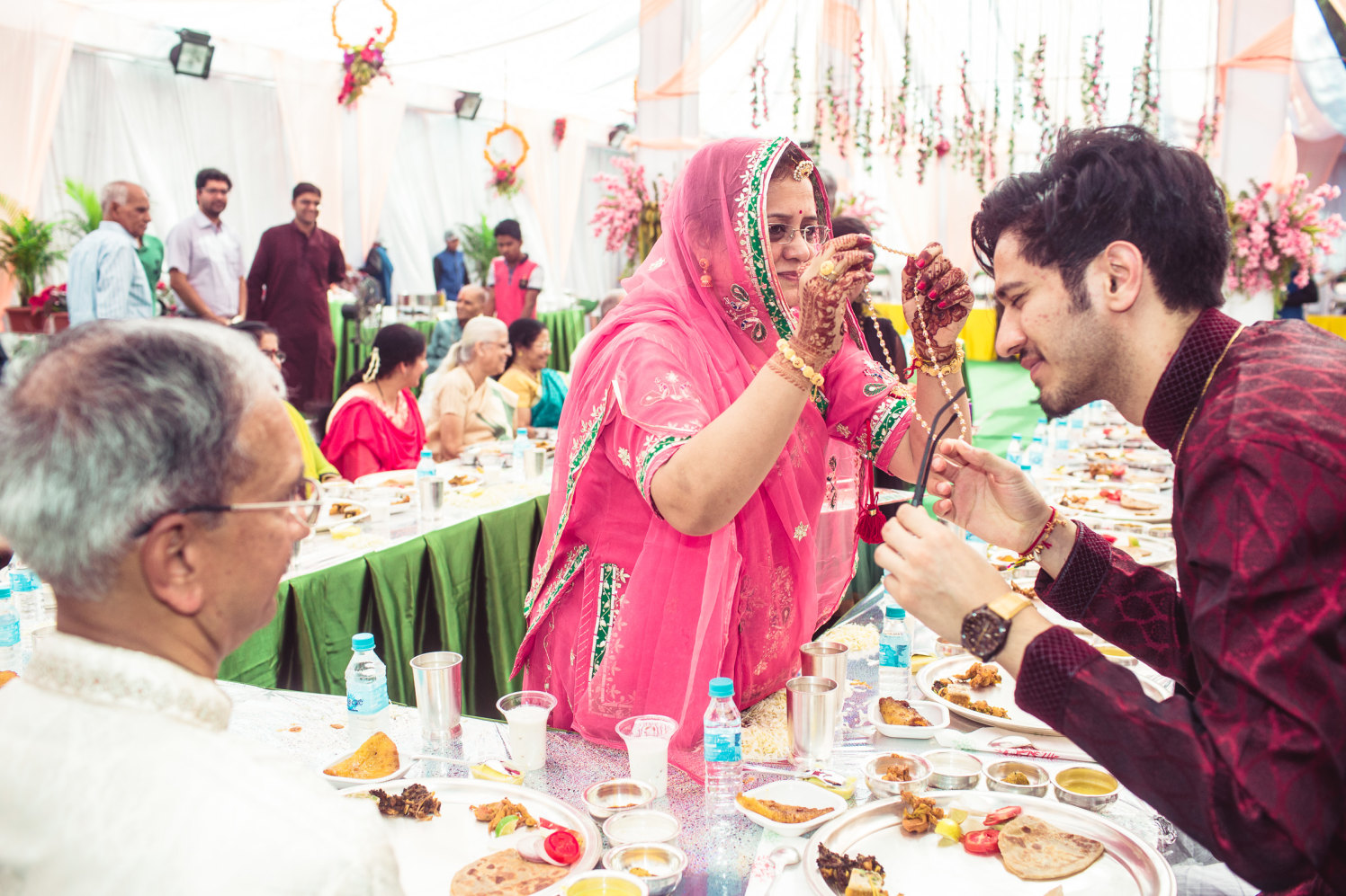 Blessed and contented by Manas Saran Photography Wedding-photography | Weddings Photos & Ideas