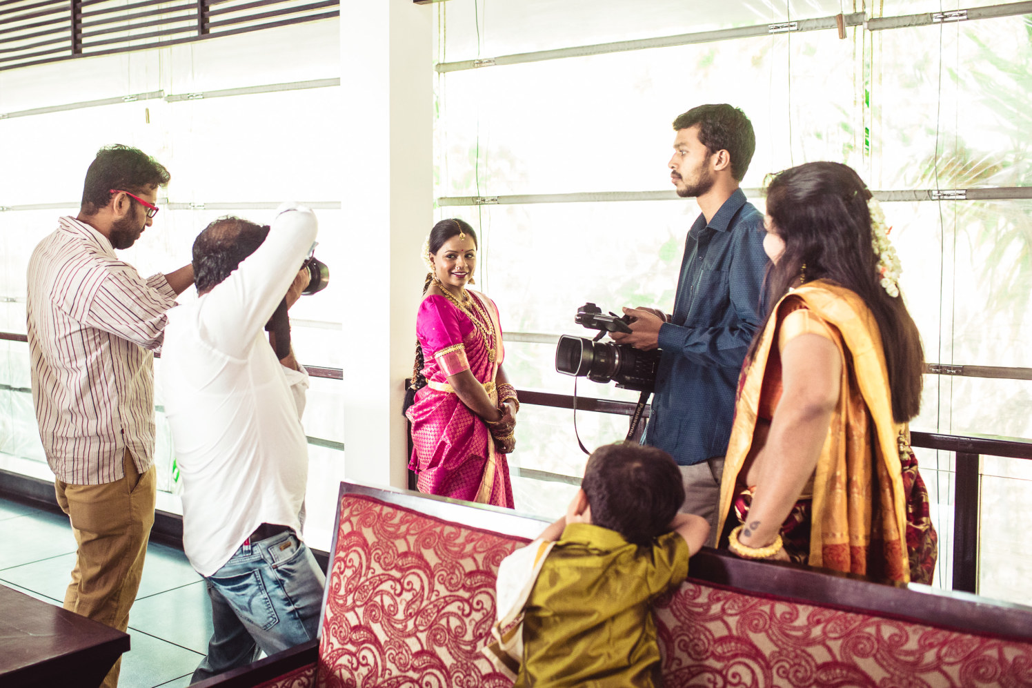 Getting clicked! by Manas Saran Photography Wedding-photography | Weddings Photos & Ideas