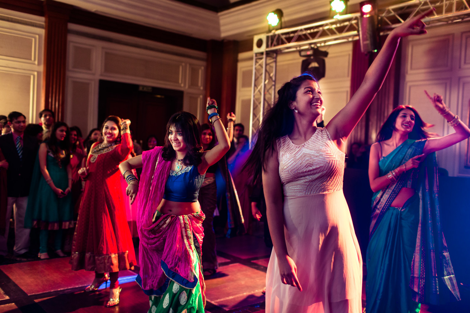 The ladies do it right! by Manas Saran Photography Wedding-photography | Weddings Photos & Ideas