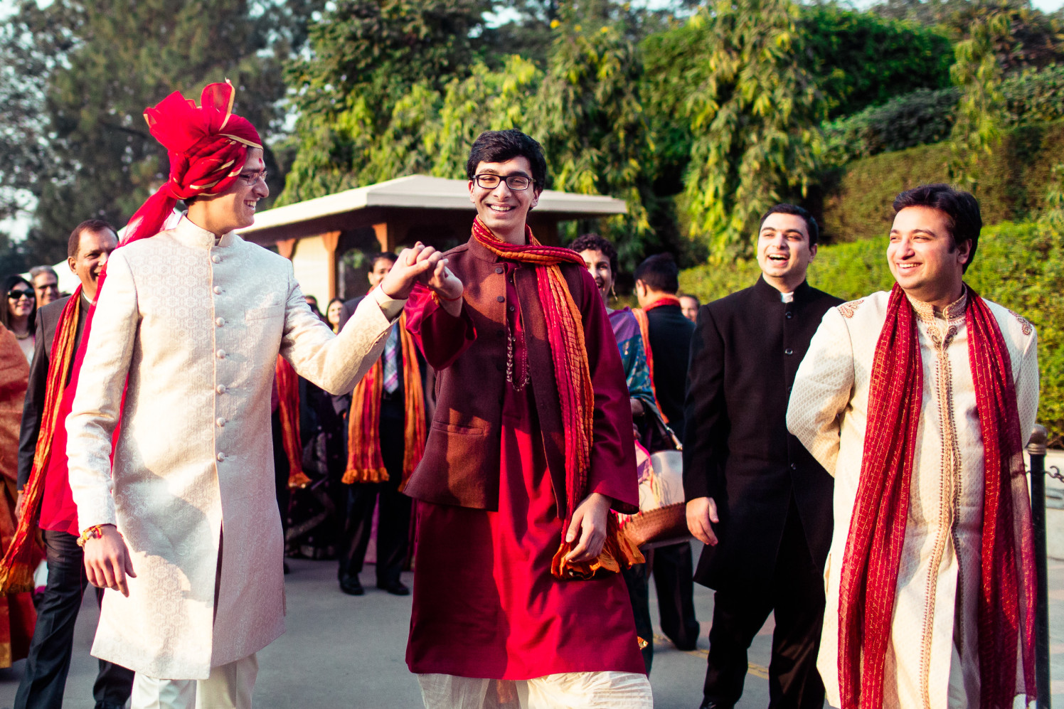 Here comes the team groom! by Manas Saran Photography Wedding-photography | Weddings Photos & Ideas