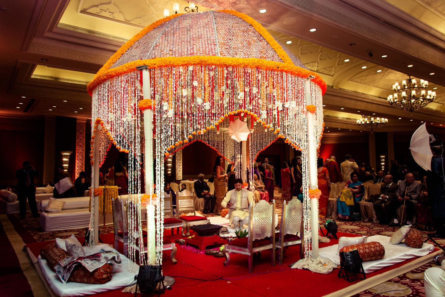The mandap setup! by Manas Saran Photography Wedding-photography   Weddings Photos & Ideas