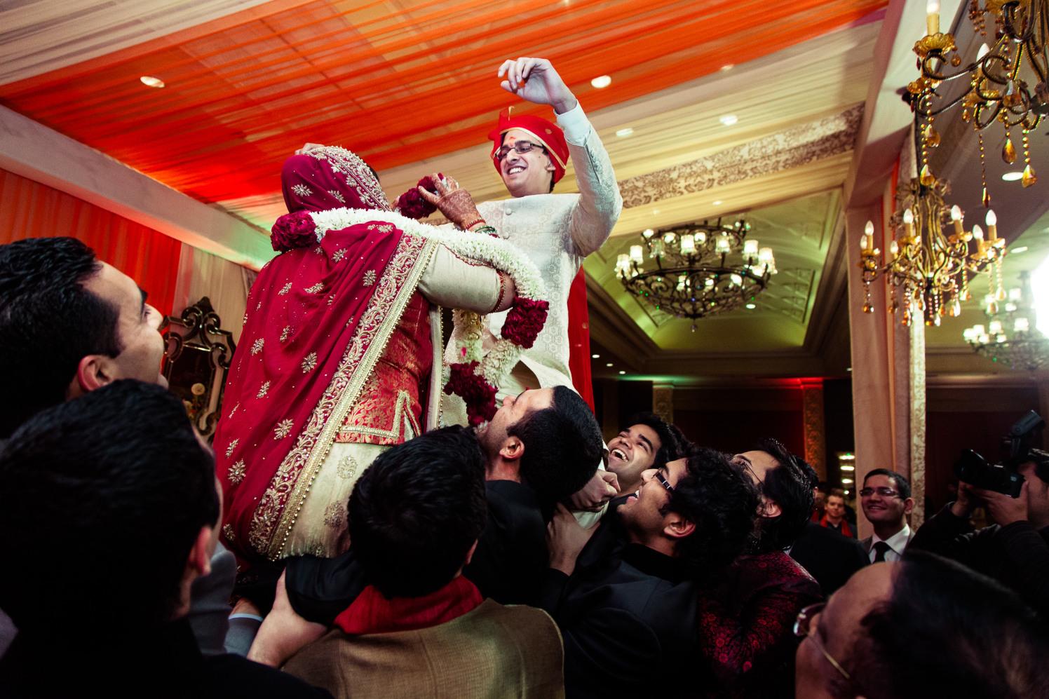 The var-mala! by Manas Saran Photography Wedding-photography | Weddings Photos & Ideas