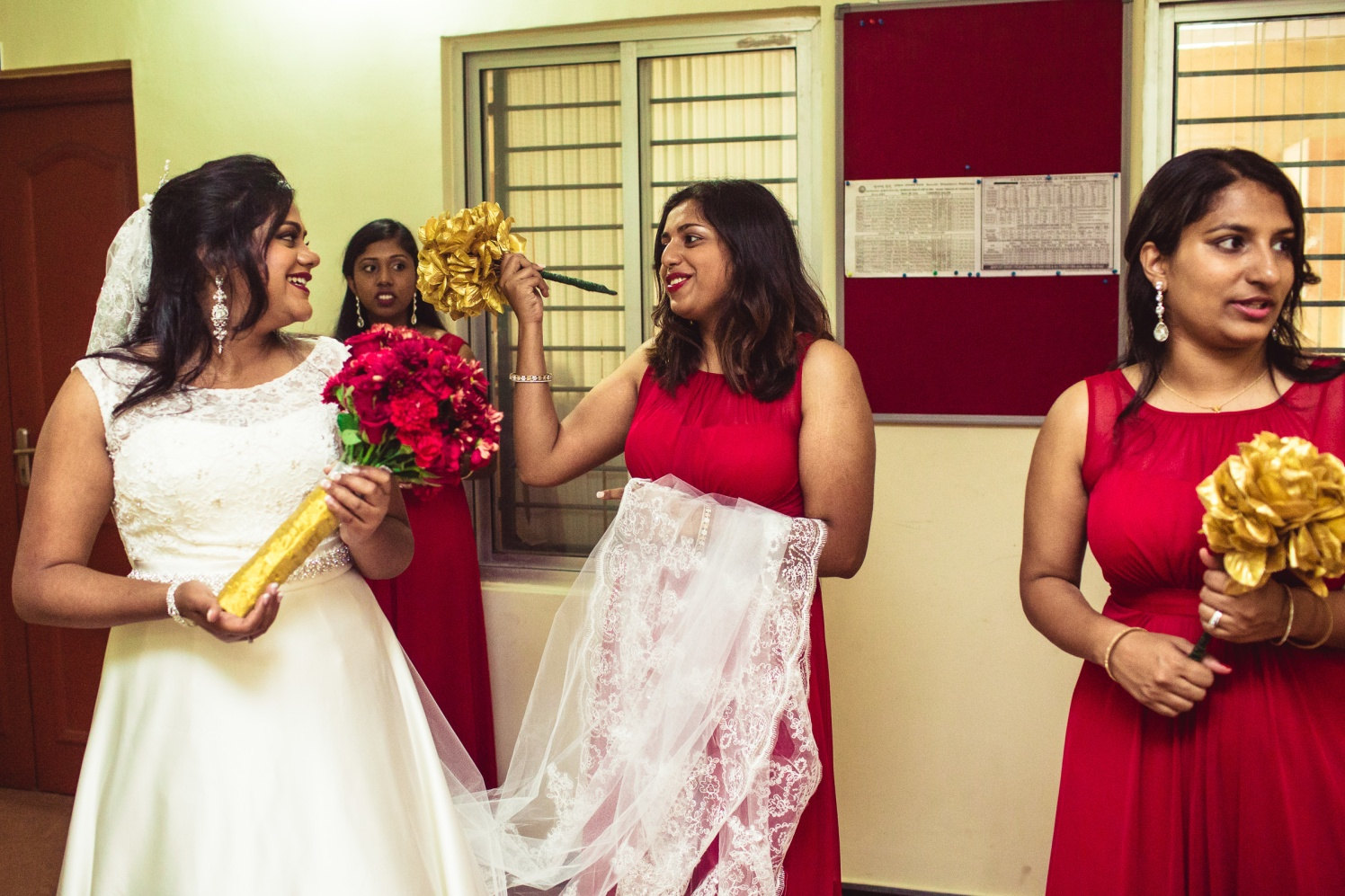 Bride gears up for the bridal entry! by Manas Saran Photography Wedding-photography | Weddings Photos & Ideas