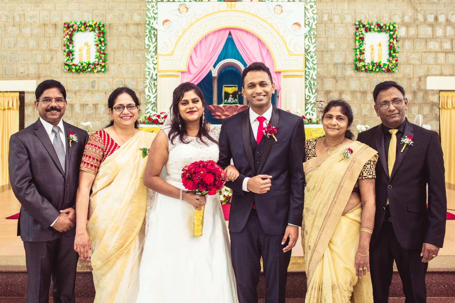 One with the family! by Manas Saran Photography Wedding-photography | Weddings Photos & Ideas