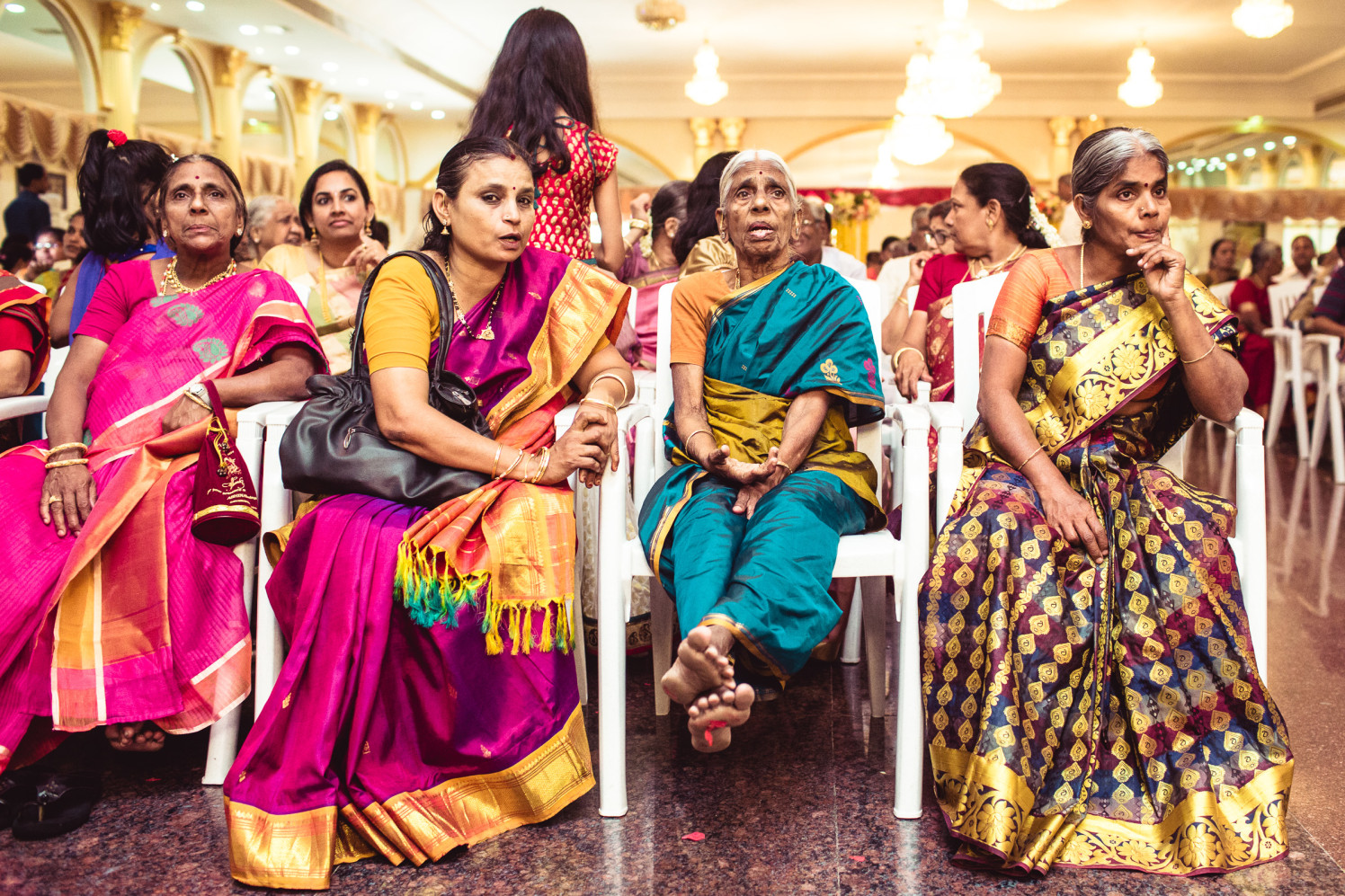 Ladies in silk! by Manas Saran Photography Wedding-photography | Weddings Photos & Ideas