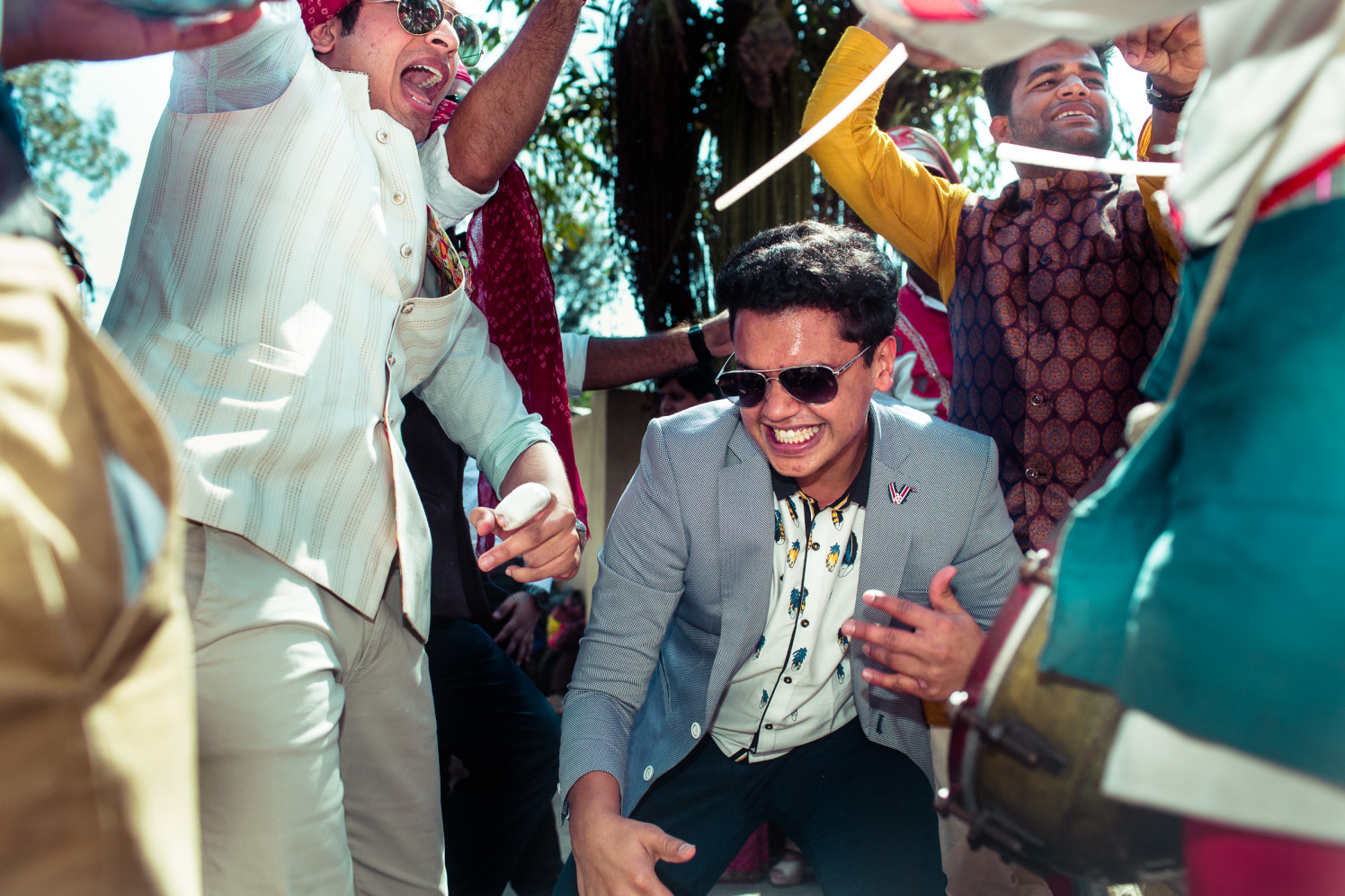Rocking some dance moves! by Manas Saran Photography Wedding-photography | Weddings Photos & Ideas