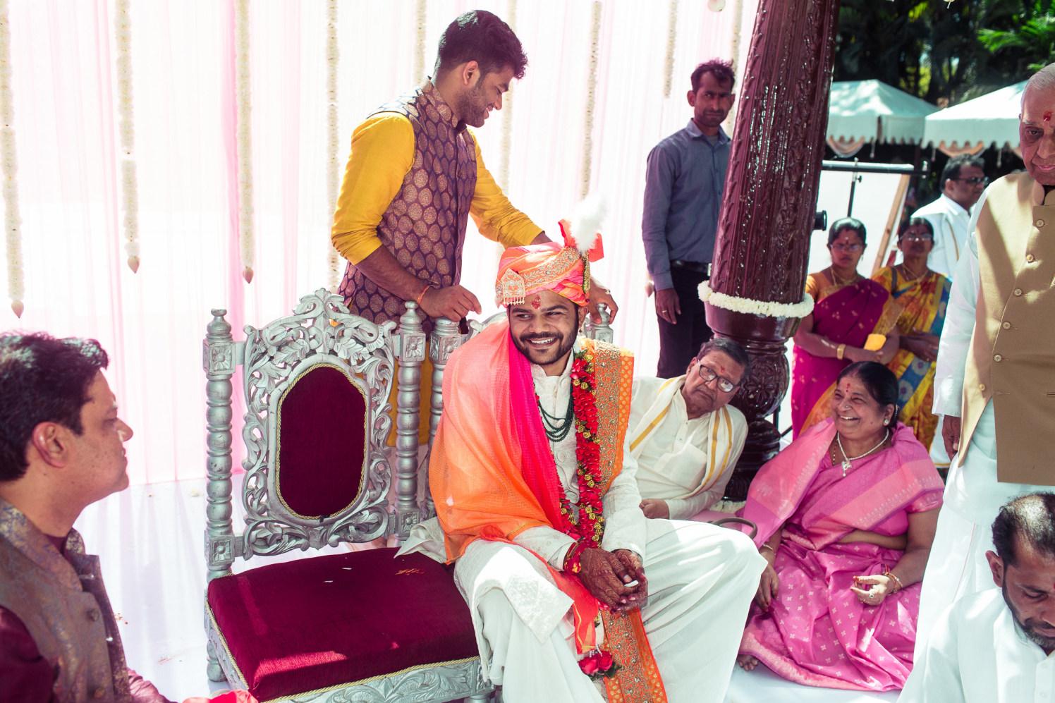 Happy groom! by Manas Saran Photography Wedding-photography | Weddings Photos & Ideas