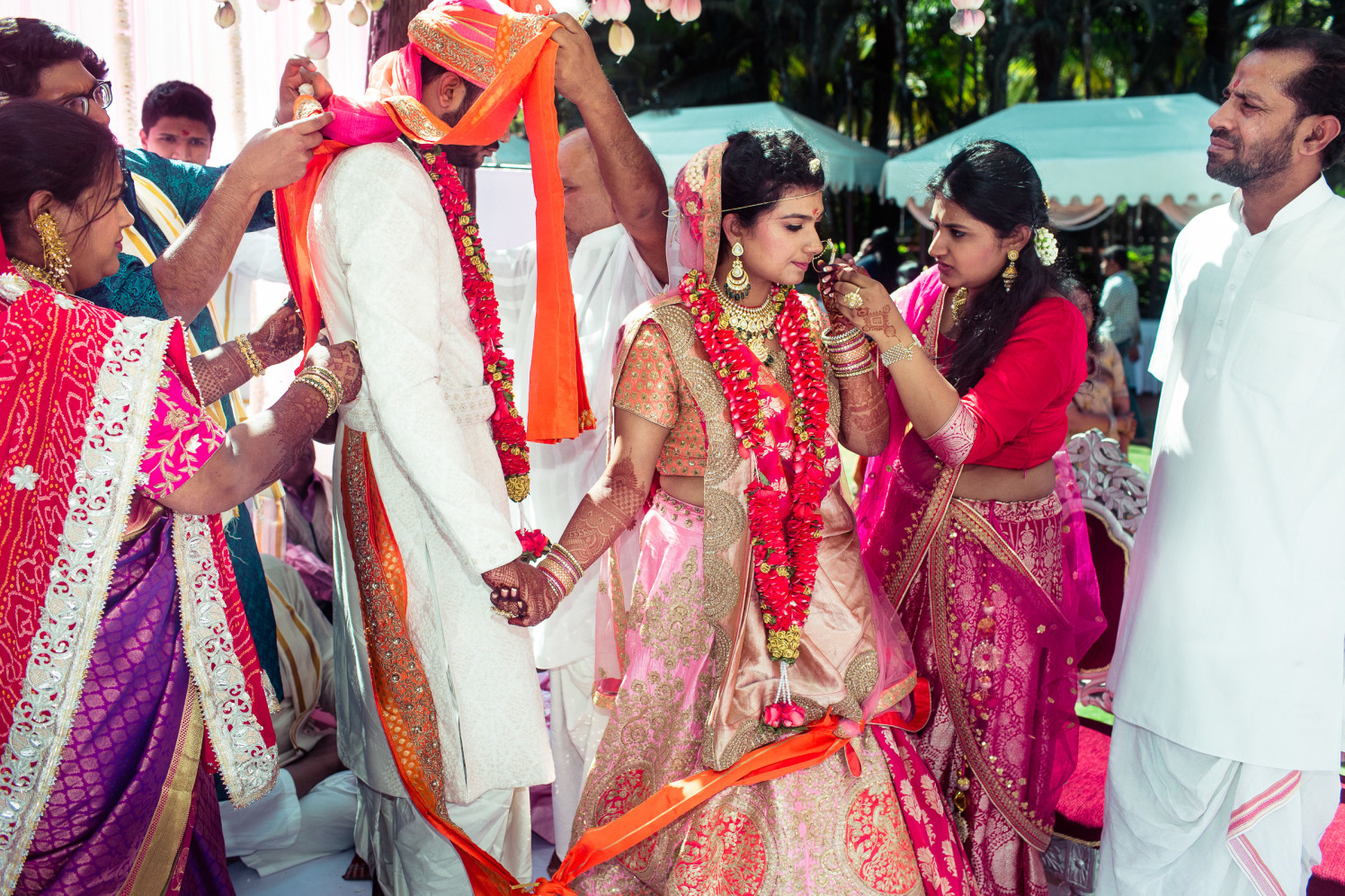 Tied in orange! by Manas Saran Photography Wedding-photography | Weddings Photos & Ideas