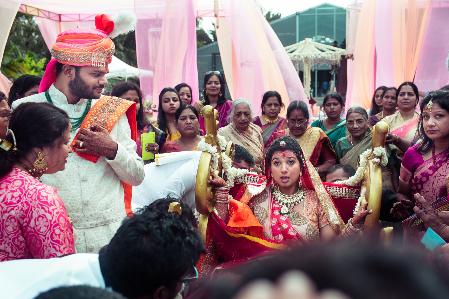 Candid bridal entry! by Manas Saran Photography Wedding-photography   Weddings Photos & Ideas
