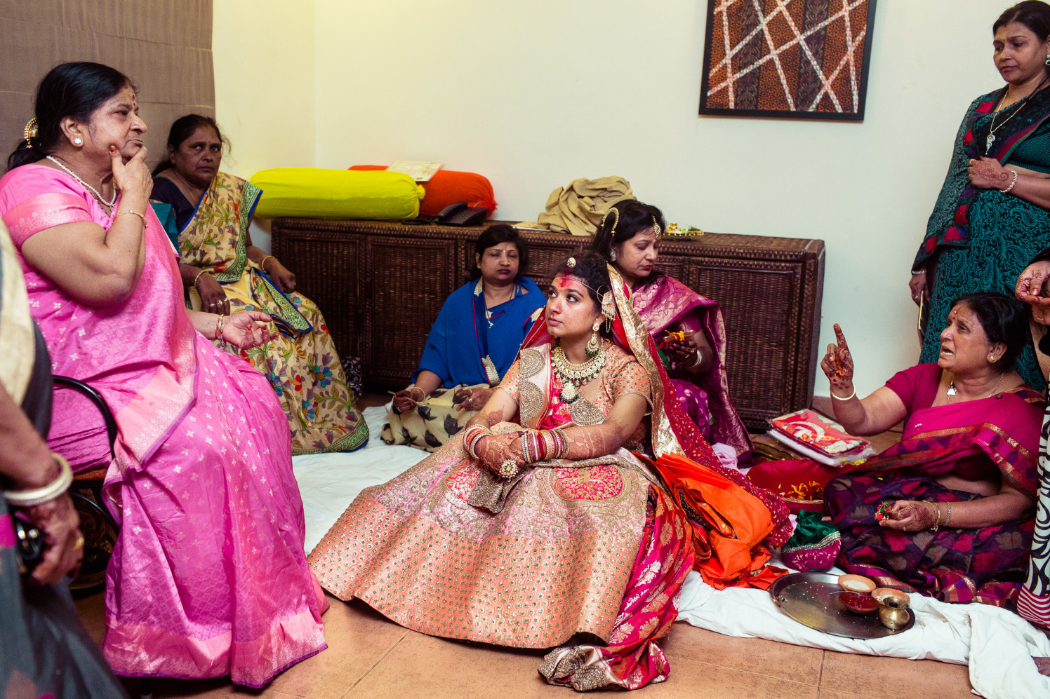 Waiting for the ceremonies! by Manas Saran Photography Wedding-photography | Weddings Photos & Ideas
