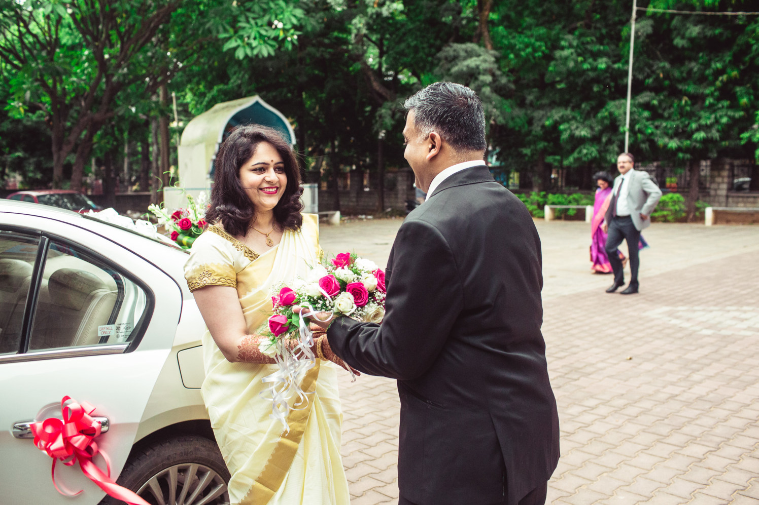Welcoming the bride! by Manas Saran Photography Wedding-photography | Weddings Photos & Ideas