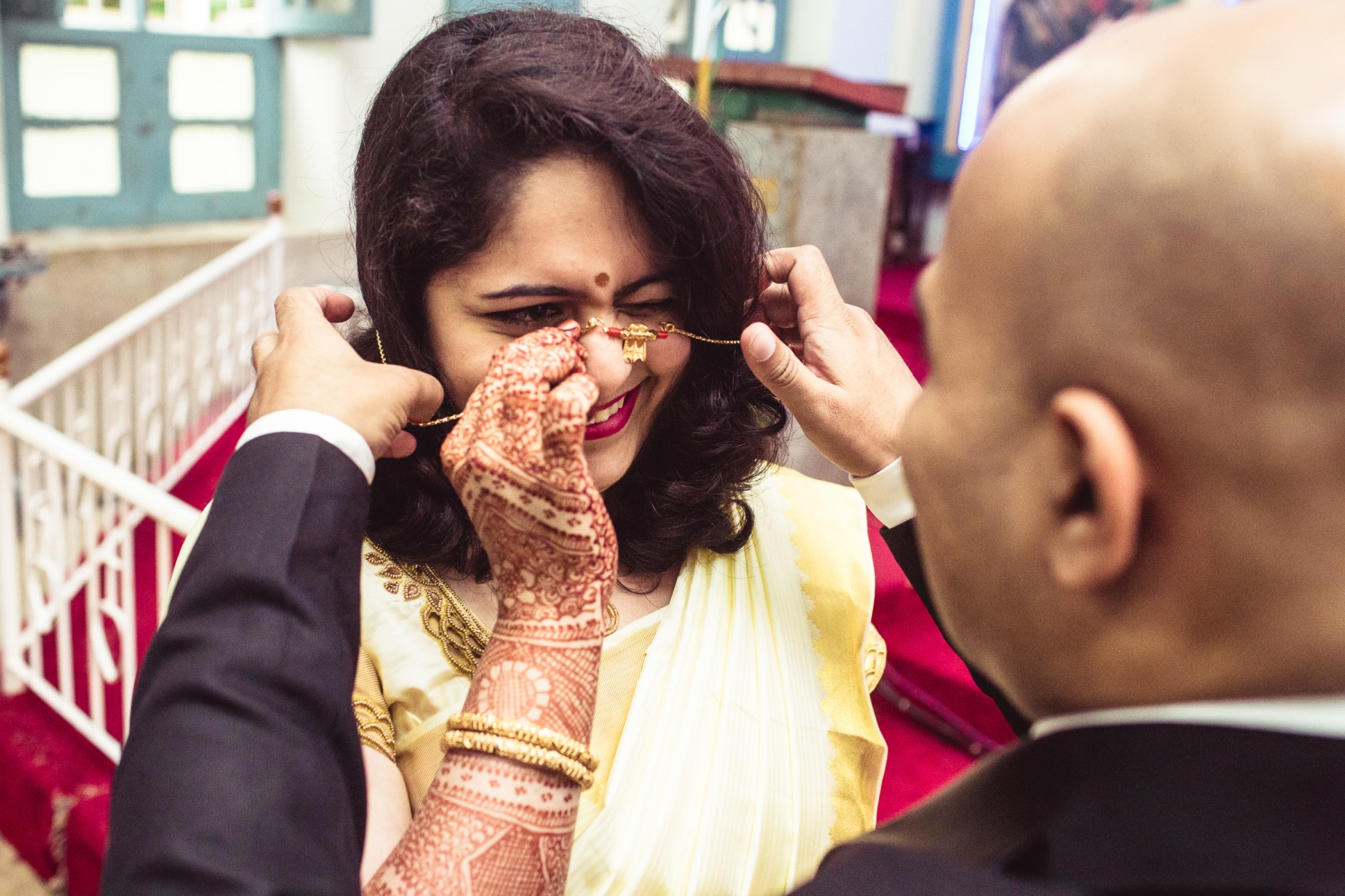At her utmost bliss! by Manas Saran Photography Wedding-photography | Weddings Photos & Ideas