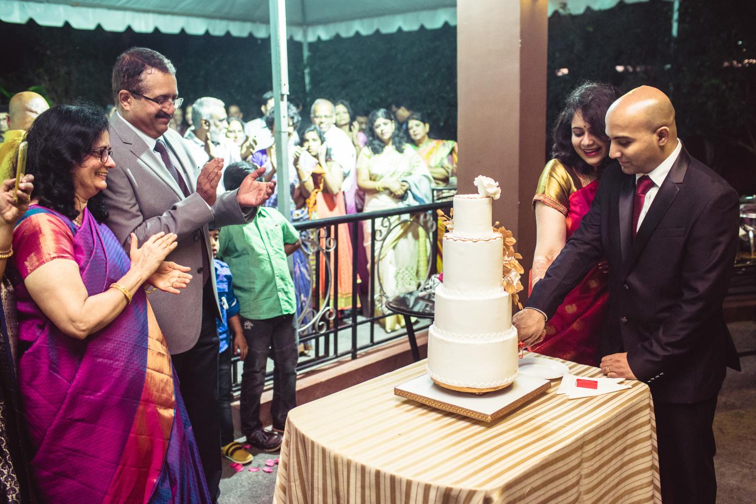 Cake cutting ceremony! by Manas Saran Photography Wedding-photography | Weddings Photos & Ideas