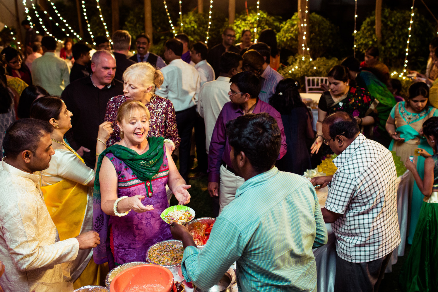 Guests are enjoying! by Manas Saran Photography Wedding-photography | Weddings Photos & Ideas