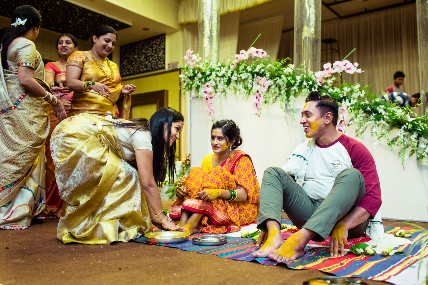 Turmeric glow! by Manas Saran Photography Wedding-photography | Weddings Photos & Ideas