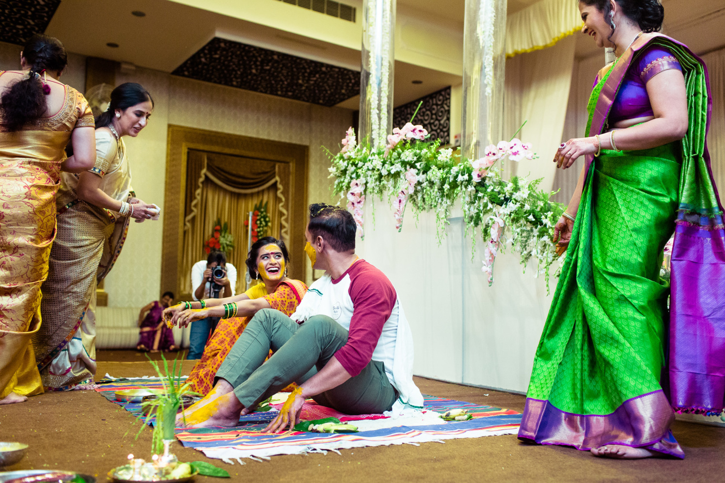 Energetic smiles! by Manas Saran Photography Wedding-photography   Weddings Photos & Ideas