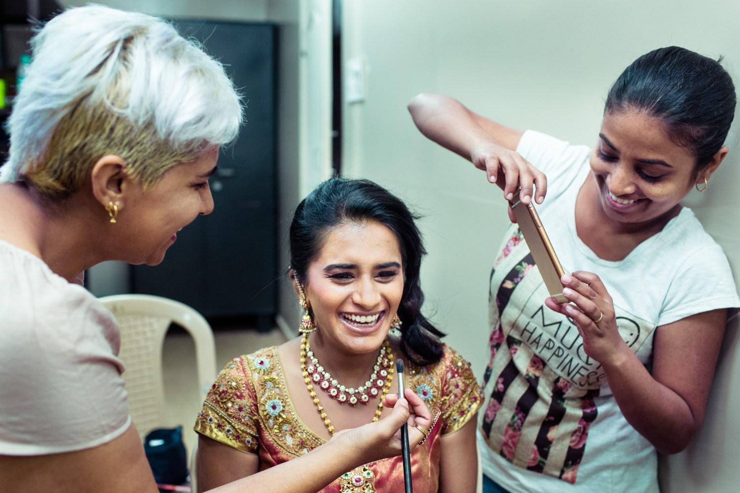 The bridal makeup! by Manas Saran Photography Wedding-photography | Weddings Photos & Ideas