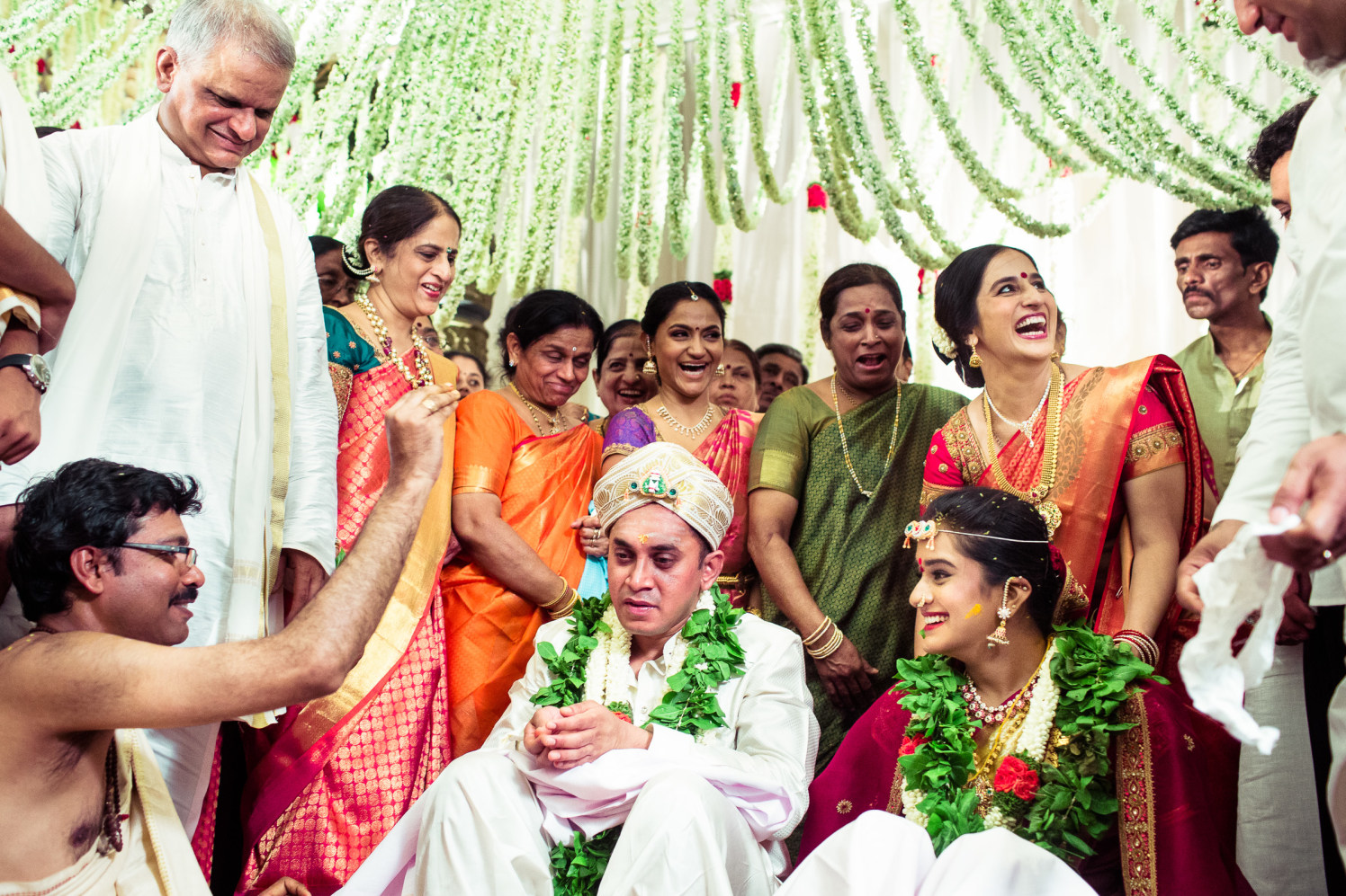 In the virtuous act! by Manas Saran Photography Wedding-photography   Weddings Photos & Ideas