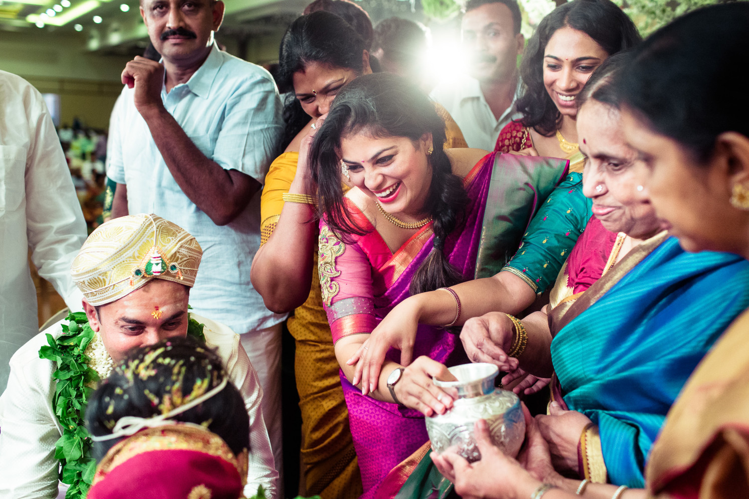 Smiles everywhere! by Manas Saran Photography Wedding-photography   Weddings Photos & Ideas