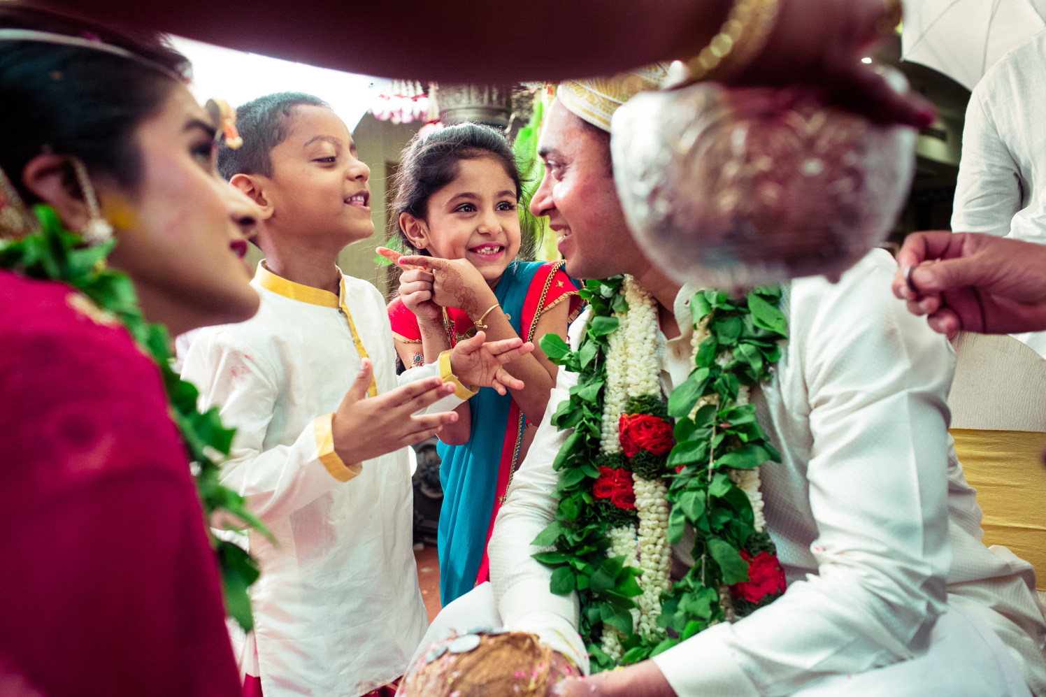Caught candid with the kids! by Manas Saran Photography Wedding-photography | Weddings Photos & Ideas