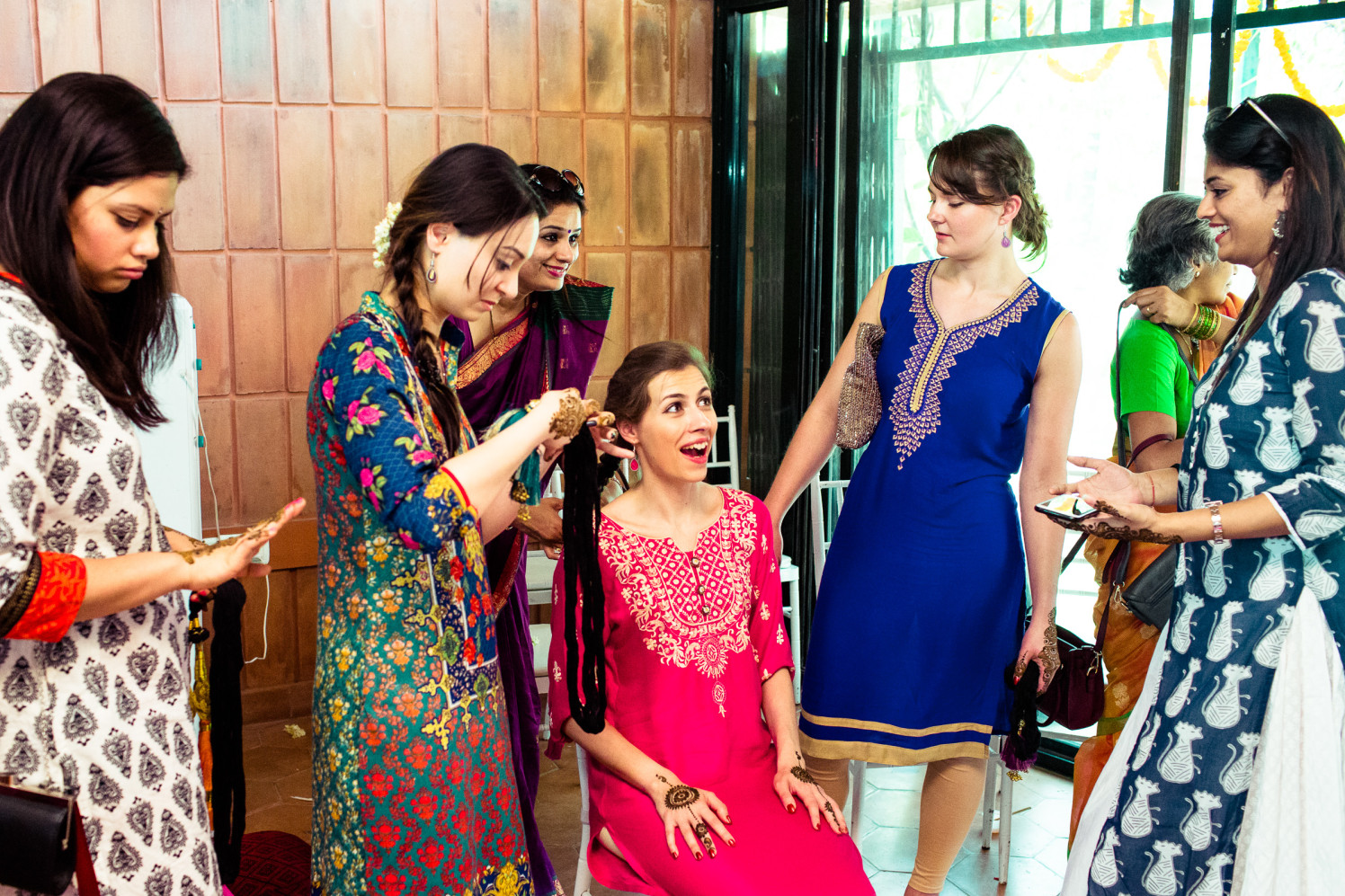 Wedding guests have their own share of fun by Manas Saran Photography Wedding-photography | Weddings Photos & Ideas