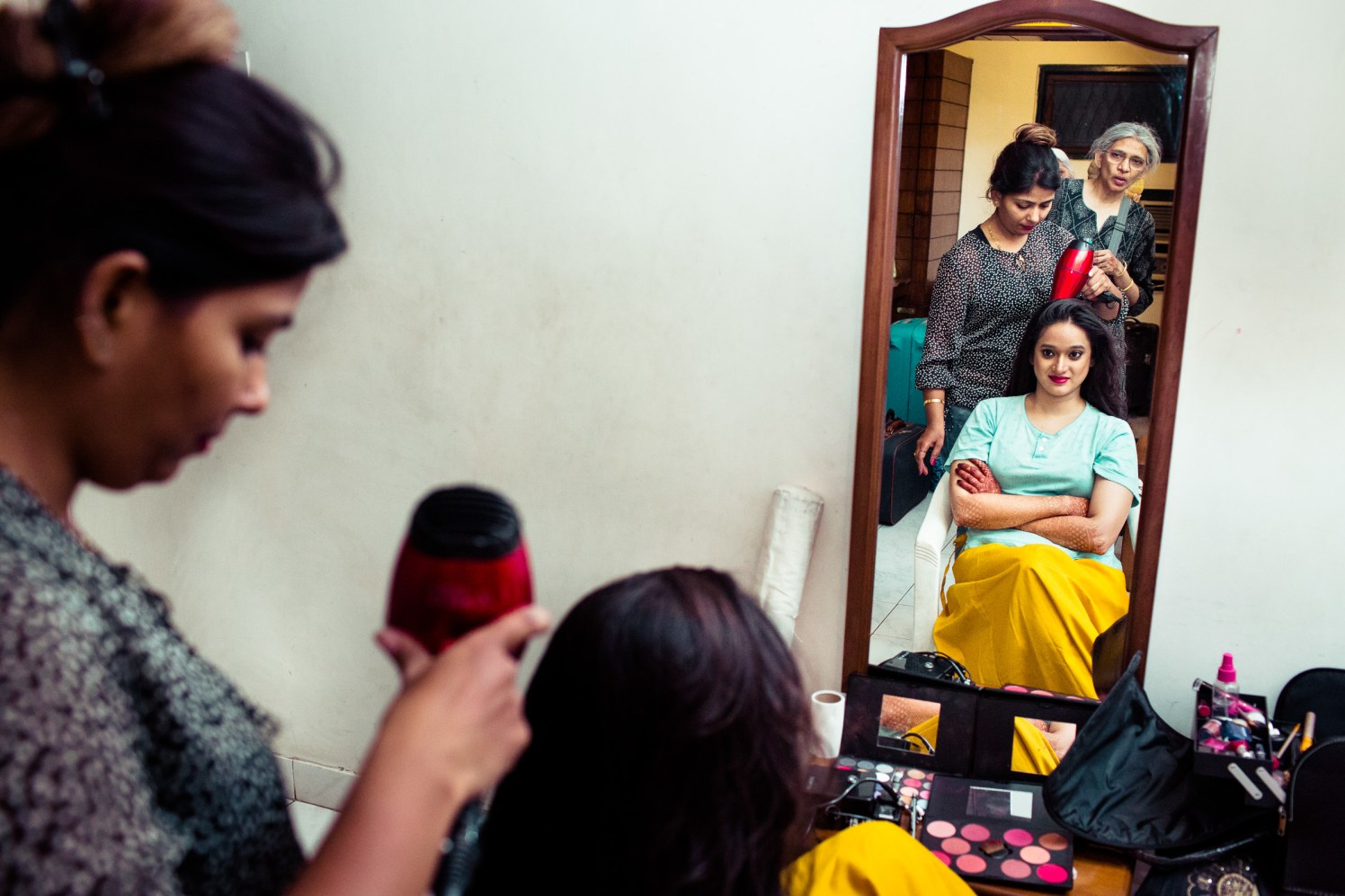 The bride gets ready! by Manas Saran Photography Wedding-photography | Weddings Photos & Ideas
