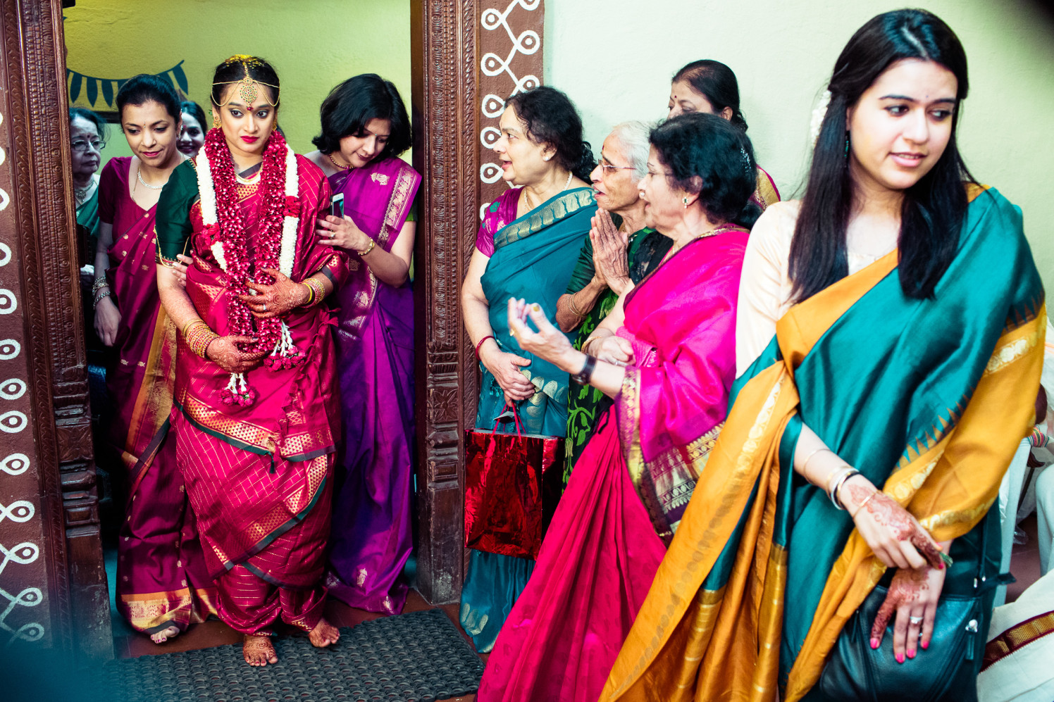 Here comes the bride! by Manas Saran Photography Wedding-photography | Weddings Photos & Ideas