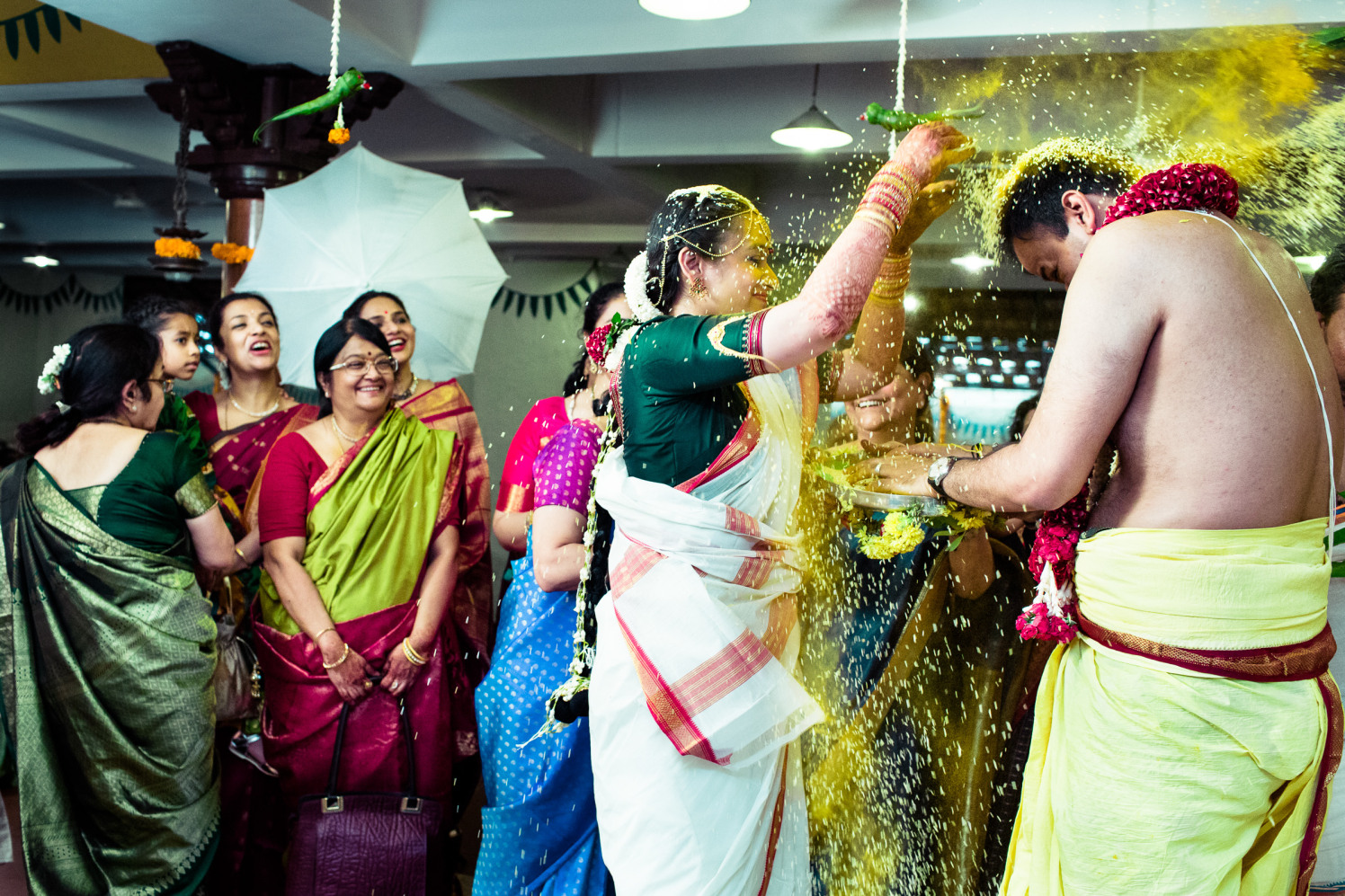The sprinklers of love! by Manas Saran Photography Wedding-photography | Weddings Photos & Ideas