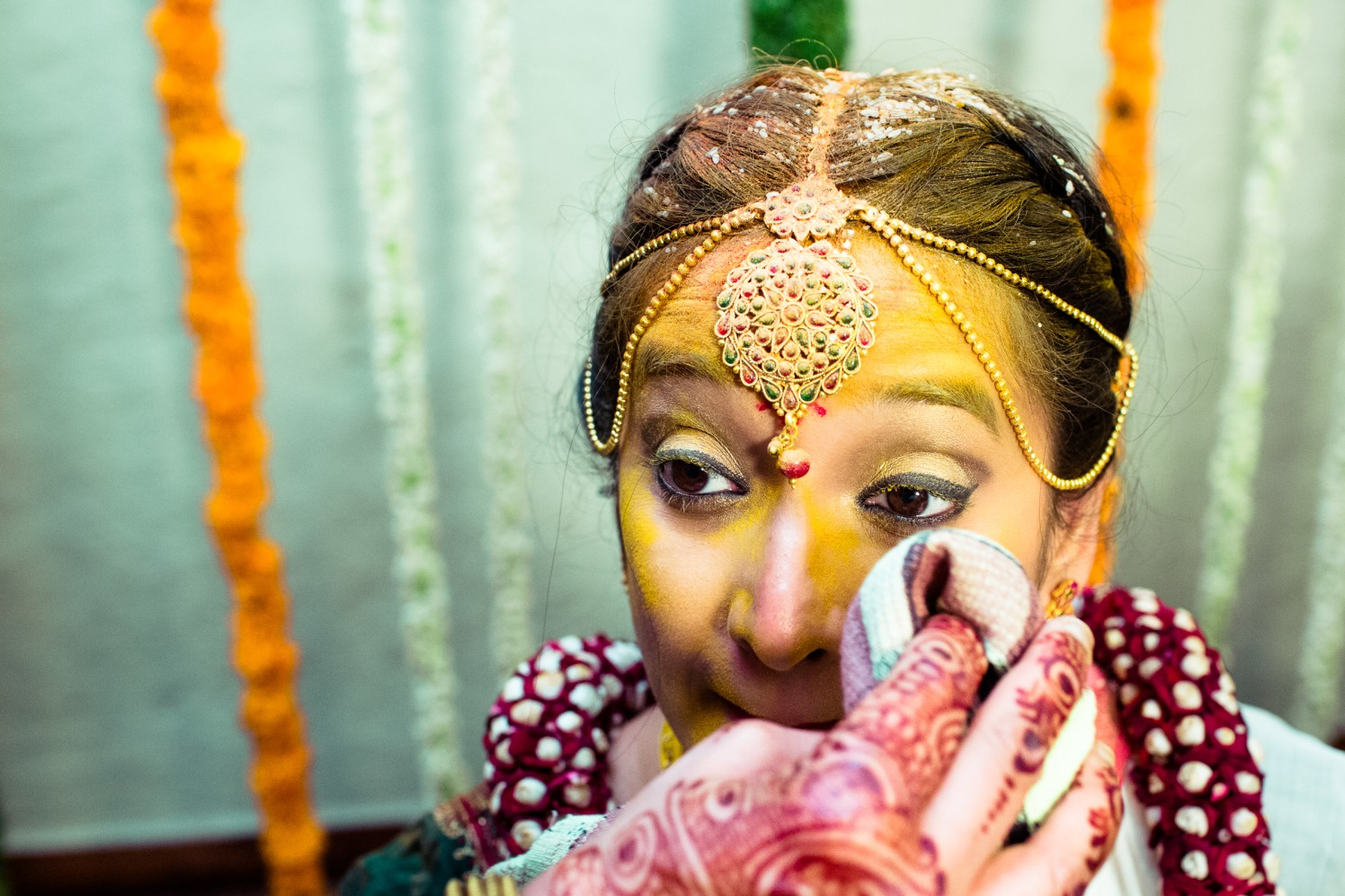 Immersed in turmeric! by Manas Saran Photography Wedding-photography | Weddings Photos & Ideas