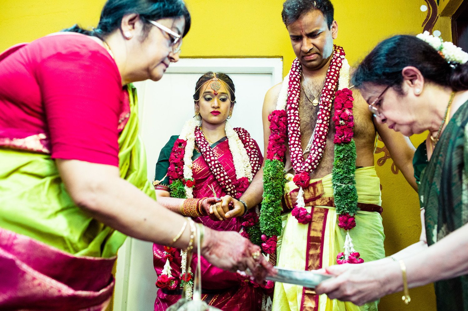 In the ritualistic grip! by Manas Saran Photography Wedding-photography | Weddings Photos & Ideas