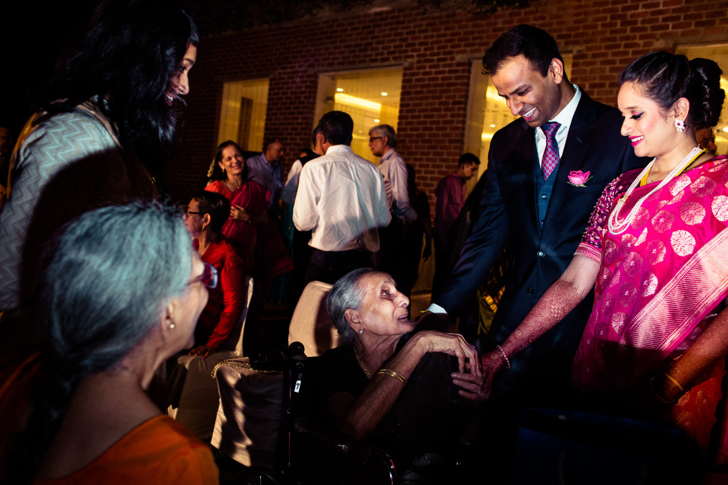 Seeking the blessings! by Manas Saran Photography Wedding-photography | Weddings Photos & Ideas