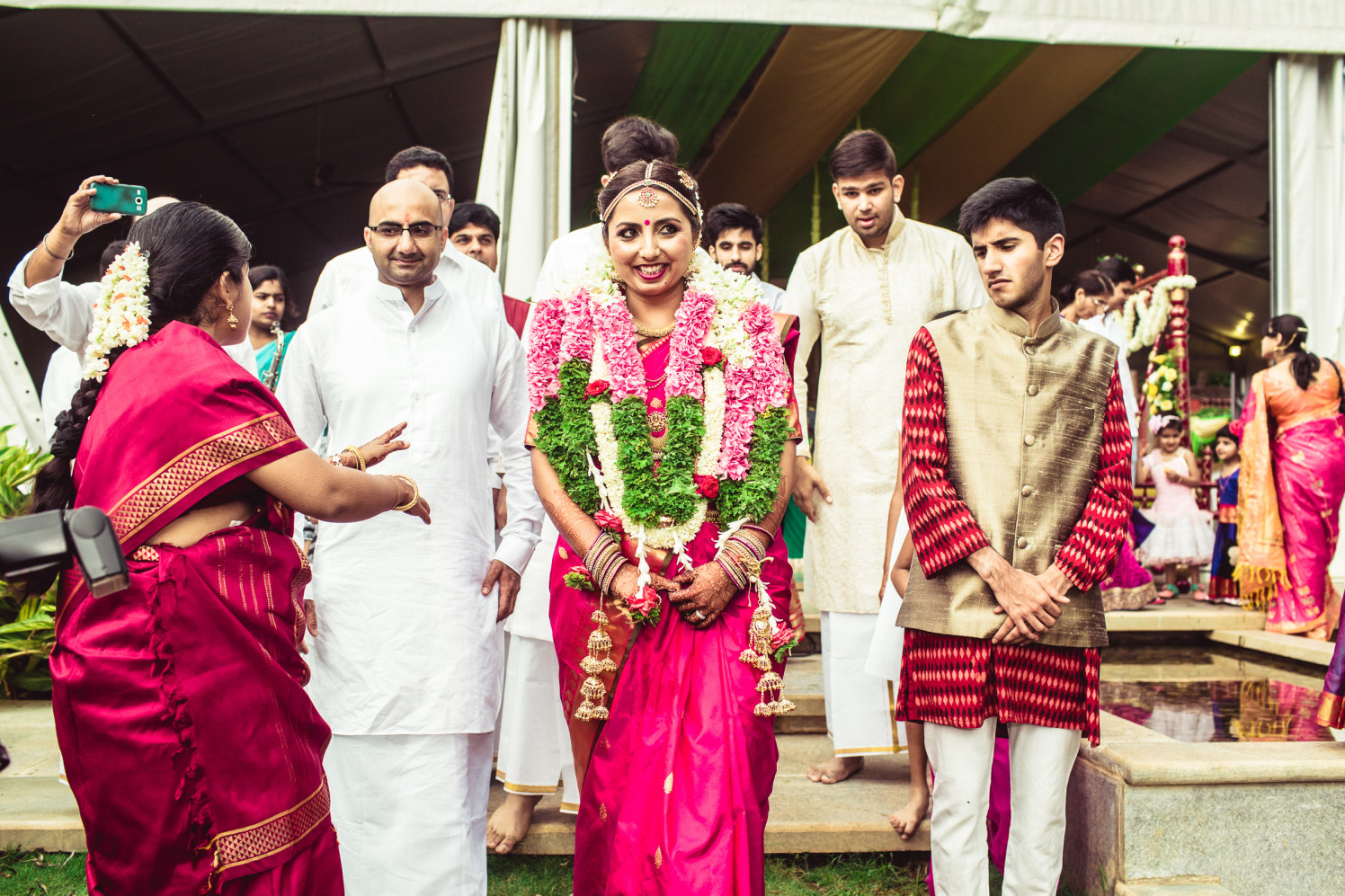 Tickled pink loveliness by Manas Saran Photography Wedding-photography | Weddings Photos & Ideas
