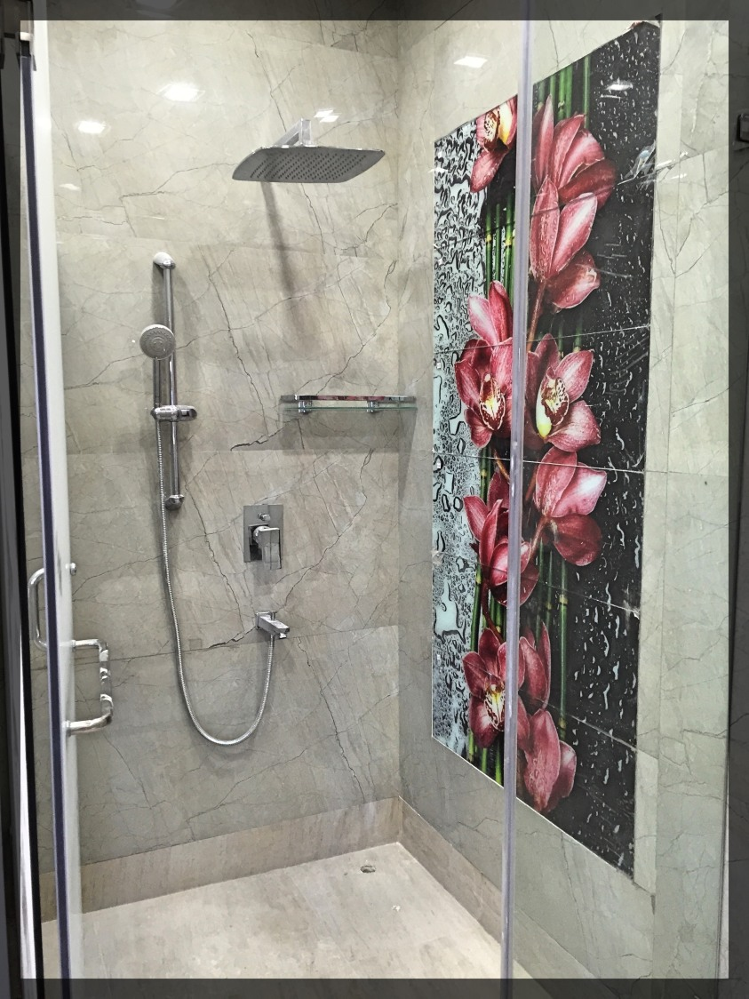 Go Floral by Designwise Interiors Bathroom Contemporary | Interior Design Photos & Ideas