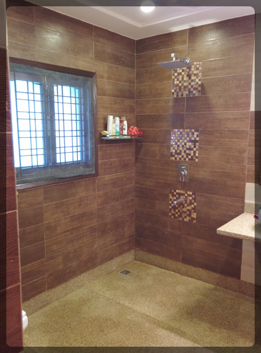 Mosaic Maze by Designwise Interiors Bathroom Modern | Interior Design Photos & Ideas