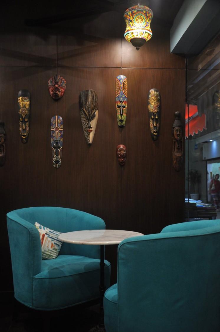 Masquerade Corner by Designwise Interiors Eclectic | Interior Design Photos & Ideas
