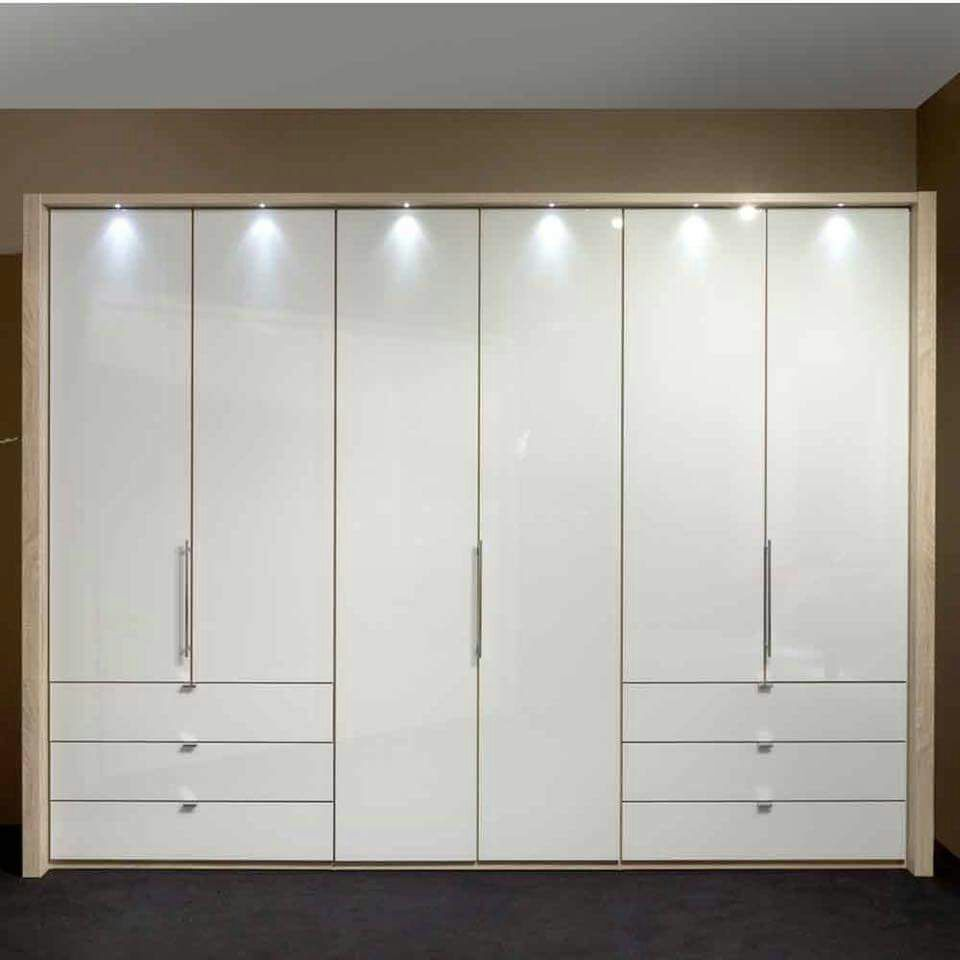 White wardrobe with base drawers by Sudeep S Gandhi ID Bedroom Contemporary | Interior Design Photos & Ideas
