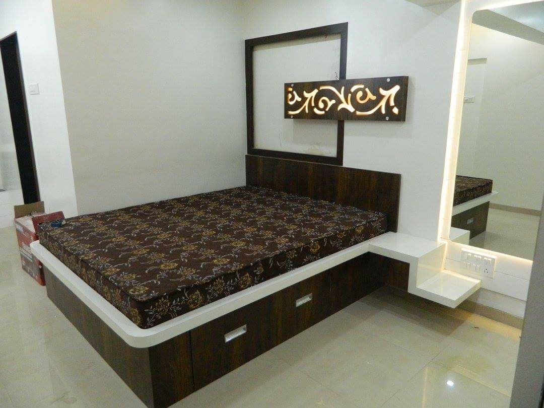 stylish bedroom design by Intrusa Interiors  Bedroom Contemporary | Interior Design Photos & Ideas