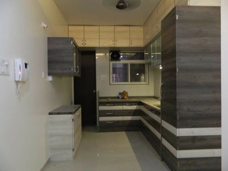 Basic Modular Kitchen by Intrusa Interiors  Modular-kitchen Contemporary | Interior Design Photos & Ideas