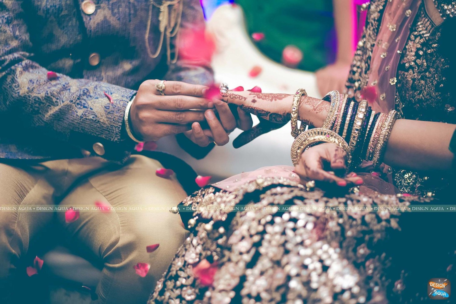 Beautiful Capture of the Ring Ceremony by Priyanka Kamboj Wedding-photography | Weddings Photos & Ideas