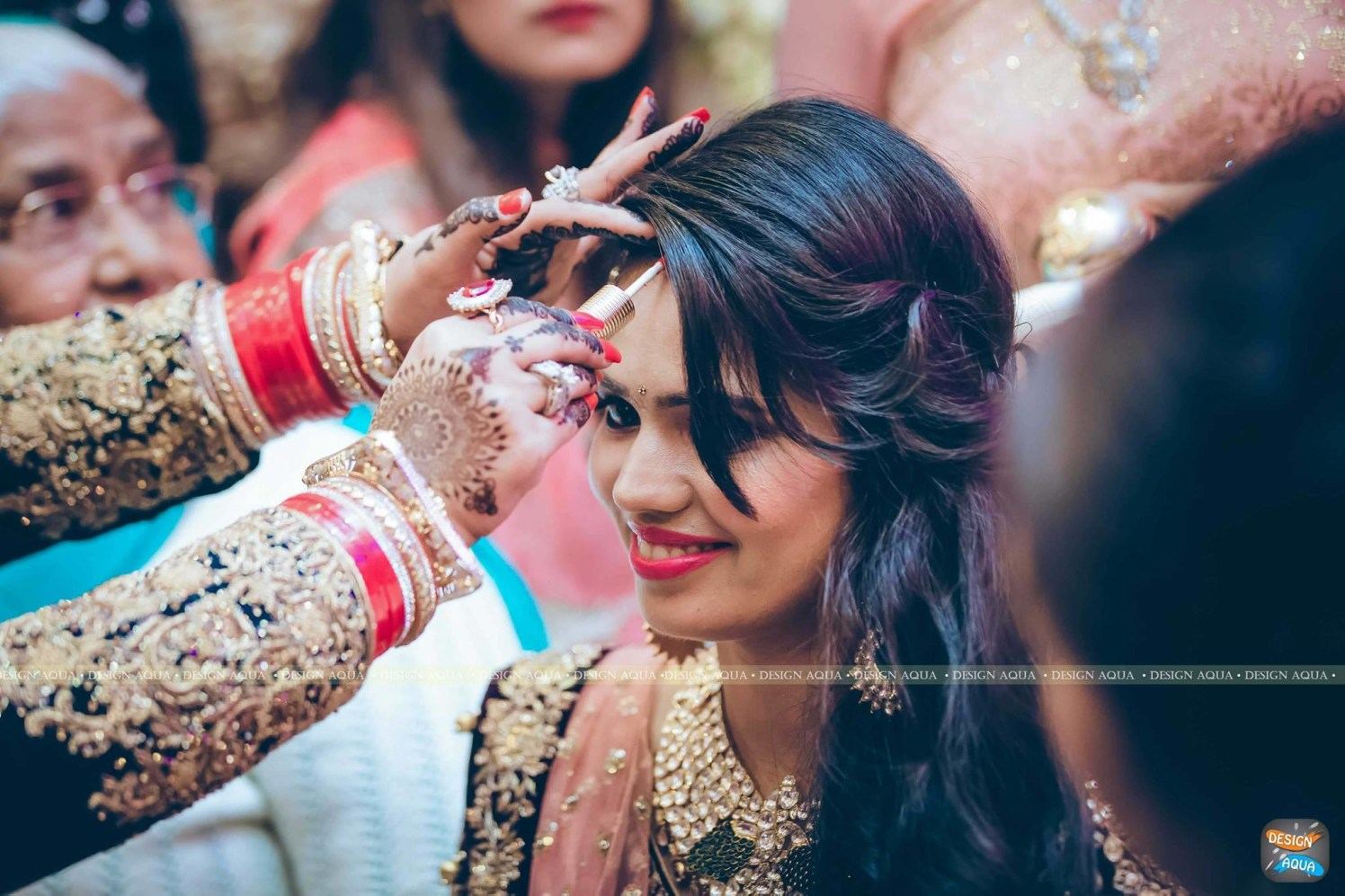 The Sindoor Ceremony Captured Perfectly by Priyanka Kamboj Wedding-photography | Weddings Photos & Ideas