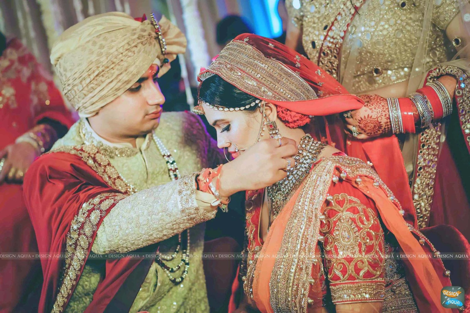 The Precious Moment of the Mangal Sutra Ceremony by Priyanka Kamboj Wedding-photography Groom-wear-and-accessories   Weddings Photos & Ideas